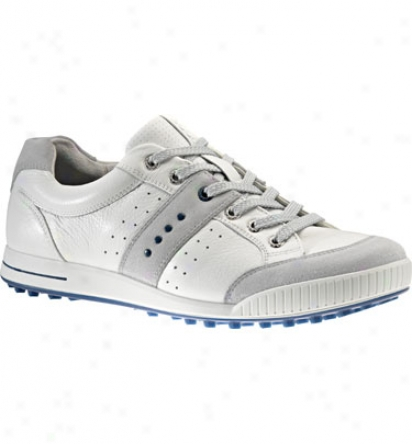 Ecco Men S Street Premier - Concrete/white/royal