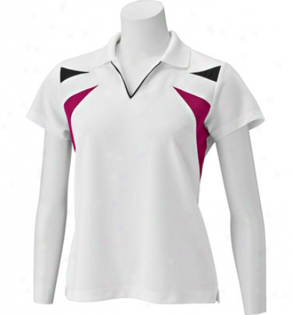Ep Pro Women S Cap Sleeve Polo With Contrast Blocking