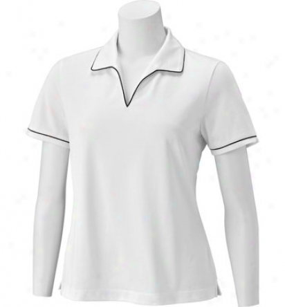 Ep Pro Women S Short Sleeve Polo With oCntrast Piping