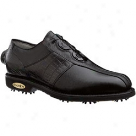 Footjoy Classics Tour With Boa Technology Back/black Lizard
