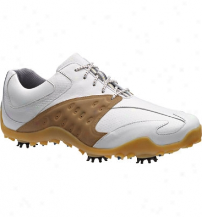 Footjoy Closeout Men S Golf Athletic - Whitd/taupe (56797)