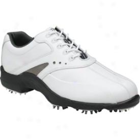 Footjoy Closeout Superlites -  White/white/silver (fj#58007)