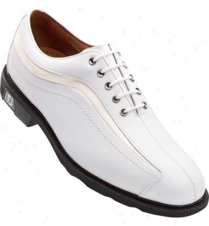 Footjoy Icon - White/white Patent Nuwave (fj#52315)
