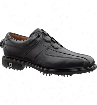 Footjoy Men S Icon Reelfit-black/lack Boa  (fj#52228)