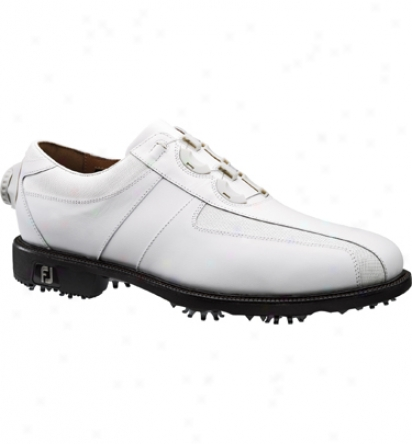 Footjoy Men S Icon Reelfit-white/white Boa  (fj#52210)