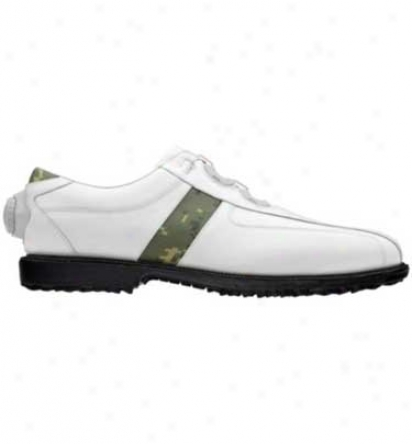 Footjoy Men S - Professional Spikeless Play Saddle With Boa Lacing System Myjoys (fj#52360)