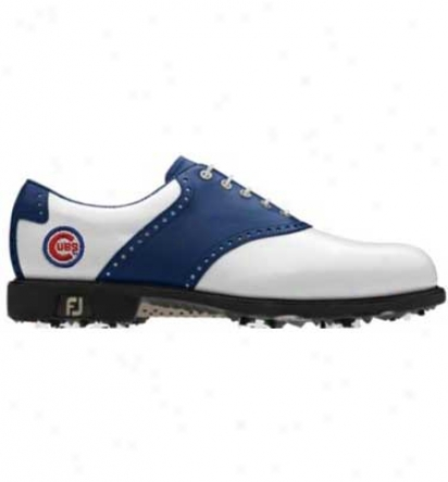 Footjoy Mlb Men S Icon - Traditional Saddle Myjlys