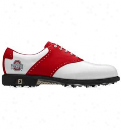 Footjoy Ncca Men S - Dryjoys Traditional Myjoys (fj#53431)