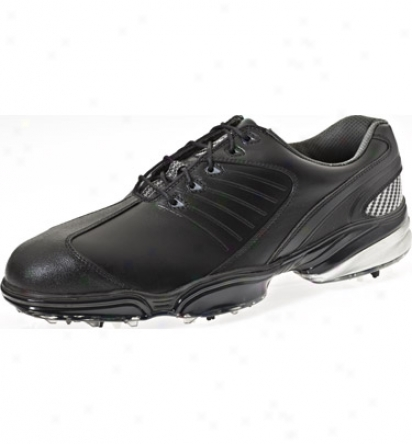 Footjoy Sport - Black/black/silved (fj # 53145)