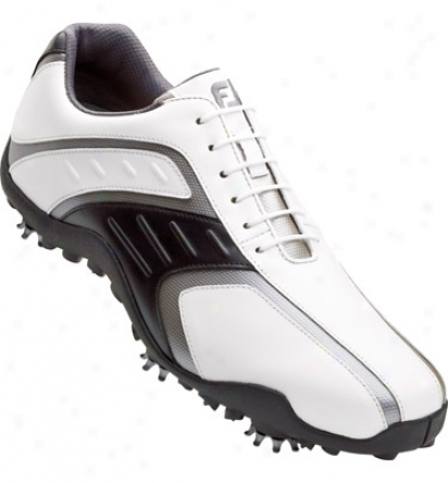 Footjoy Superlites - White/black/silver  (fj#58125)