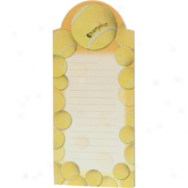Gifts Tennis Magnetic Notepad