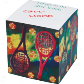 Gifts Tennis Note Block
