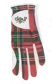 Glove It Red Plaid Glove & Pouch