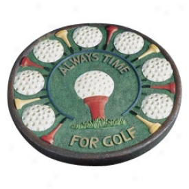 Golf Gifts & Art collection Always Time Stepping Stone