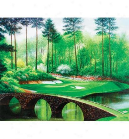Golf Gifts & Gallery Canvas Art - Augusta #12, 23  X 29