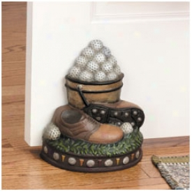 Golf Gifts & Gallery Caqt Iron Door Stop