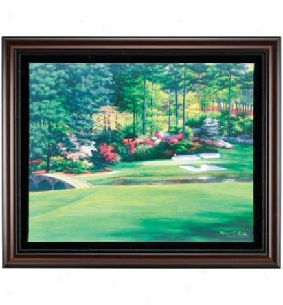 Golf Gifts & Gallery Framed 30 X36  Canvas Augusta #12