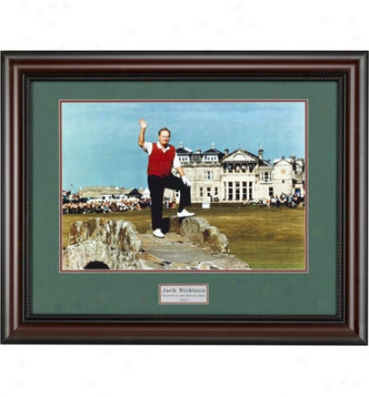 Golf Gifts & Gallery Framed Art - Nicklaus Farewell, 24  X 30