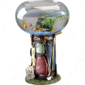 Golf Gifts & Gallery Golf Bag Aqurium