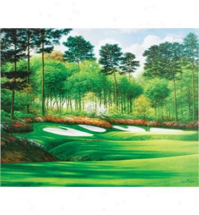 Golf Gifts & Gallery Unframed 29 X23  Canvas Augusta #13