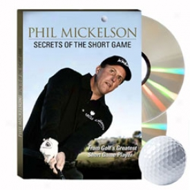 Golf Shop Live Phil Mickelson - Sexrets Of The Short Game