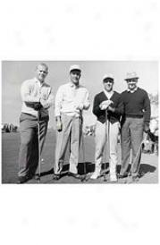 Gotta Have It Golf Palmer & Nicklaus Collage 8 X10