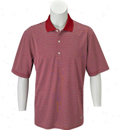 Greg Norman Men S Ml75 Intrlock Stripe Polo