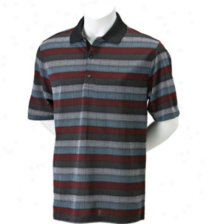 Greg Norman Men S Ombre Jacquard Polo