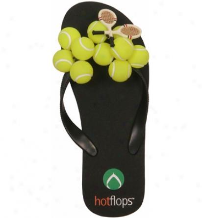 Hot Flops Women S Tennis Ball Hot Flop