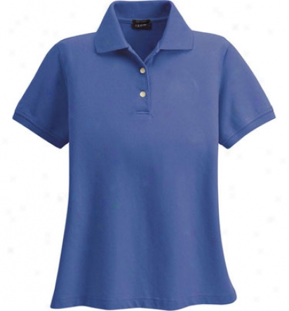 Izod Logo Women S Silkwash Stretch Pjque Polo