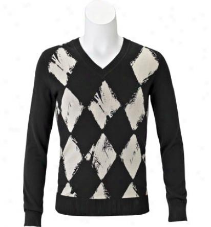 J Lindeberg Mazin Argyle Sweater