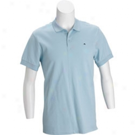 J Lindeberg Men S Mercerized Athletic Fit Golf Polo