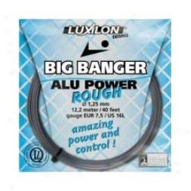 Luxilon Big Banger Alu Power Rough String