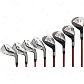 Lynx 2008 Hxi Hybrid Iron Set 3-pw With Graphite/steel Shafts