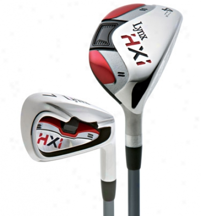 Lynx Preowned 2010 Hxi Iron Set With Graphite Shafts