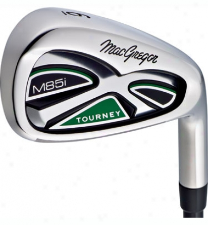 Macgregor Premium Demo M85i Iron Set 3-pw With Steel Shafts- Mint Condition