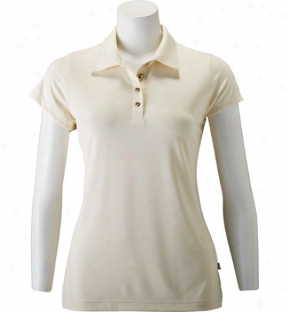Maggie Alley Womens Short Sleeve Polo
