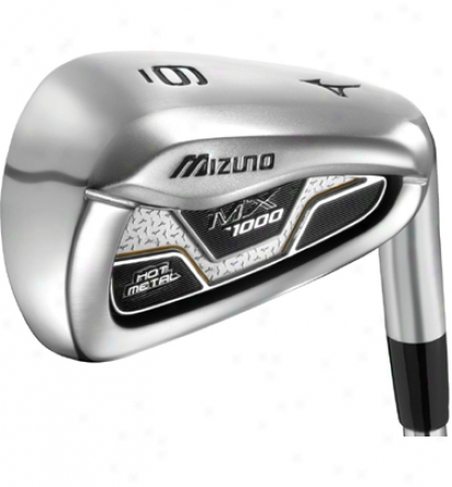 Mizuno Mx1000 Iron Set 4-gw With Graphite Shafts