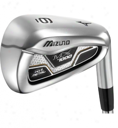 Mizuno Mx1000 Iron Set 4-gw With Steel Shafts