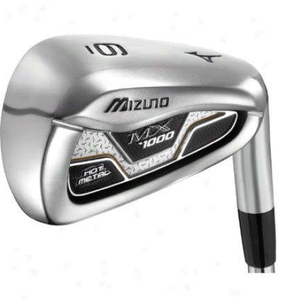 Mizuno Mx1000 Iron Set 4-gw With Steel Shafts