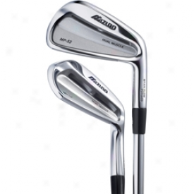 Mizuno Preowned Mizuno Mp 52 Iron Set 3-pw With Steel Shafts
