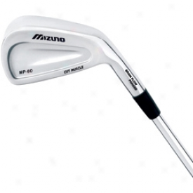 Mizuno Preowned Mp-60 3-pw Iron Set W/steel Shaft