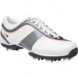 Nike Particle White/classic Cha5coal/perfect Pink