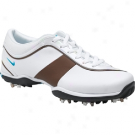 Nike Ace White/neo Turquoise/trails End Brown