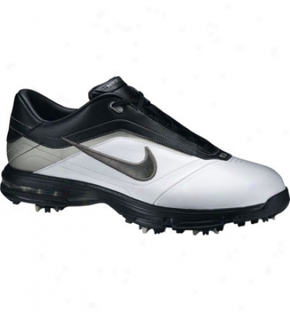 Nike Air Academy - White/metallic Silver - Black