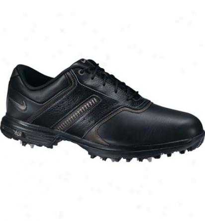 Nike Air Tour Saddle - Black/metallic Silver - Dark Charcoal
