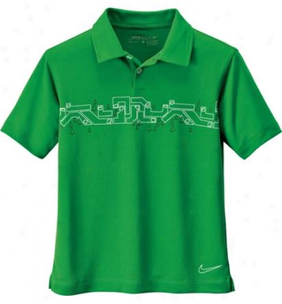 Nike Boy S Video Golf Course Polo
