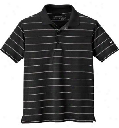 Nike Boys Dri-fit Tech Stroke  Polo