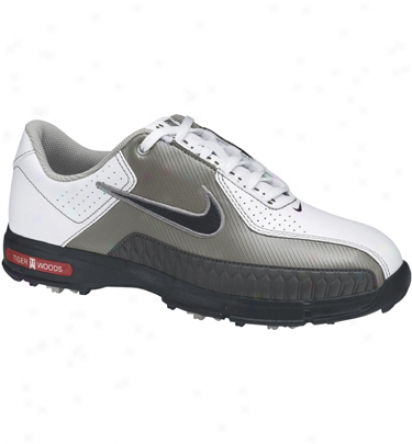 Nike Booys Jr Tw 2010 - White/black/metallic Silver