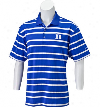 Nike Collegiate Uv Stripe Polo
